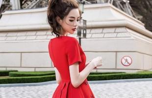 夏天穿红色裙子好看吗?4款红裙气质又显白!