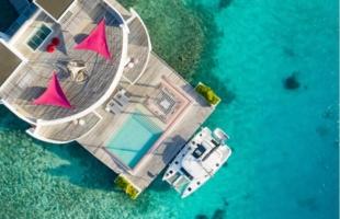 带领宾客探索丽世岛环礁以外的原始水域,北马累环礁丽世度假村推出Lagoon 40双体船