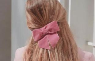 精致发饰推荐:超可爱蝴蝶结真的太美了!