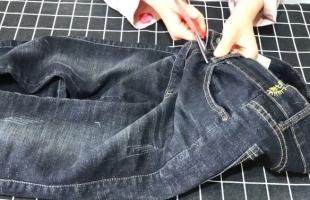 把牛仔裤的裤腰剪下来,放在衣柜里有大用处,学会受用一生!