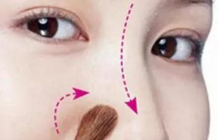 鼻子怎么化妆变高挺?教你告别塌鼻子拥有美人鼻